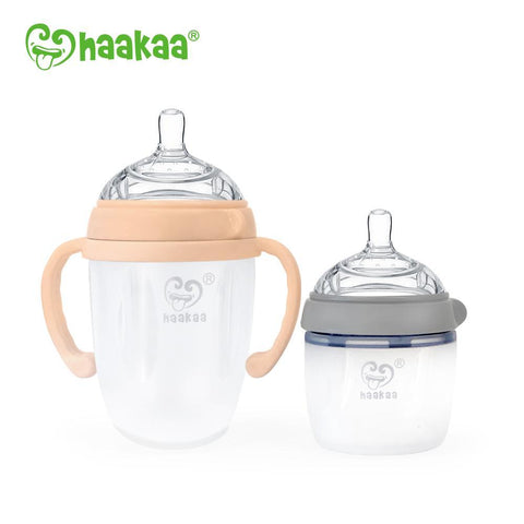 Generation 3 Silicone Baby Bottle - 250ml / Nude
