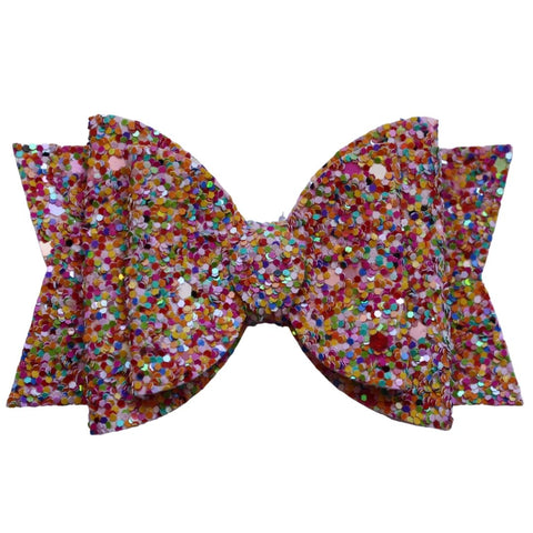 "3.25"" Double Bows Freckled Fun"
