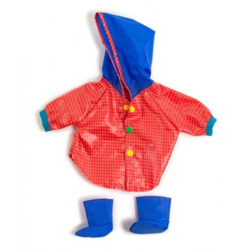 Miniland Clothing Raincoat and Wellingtons, (38-42 cm Doll)