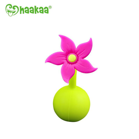 Limited Edition Haakaa Pink Flower Stopper