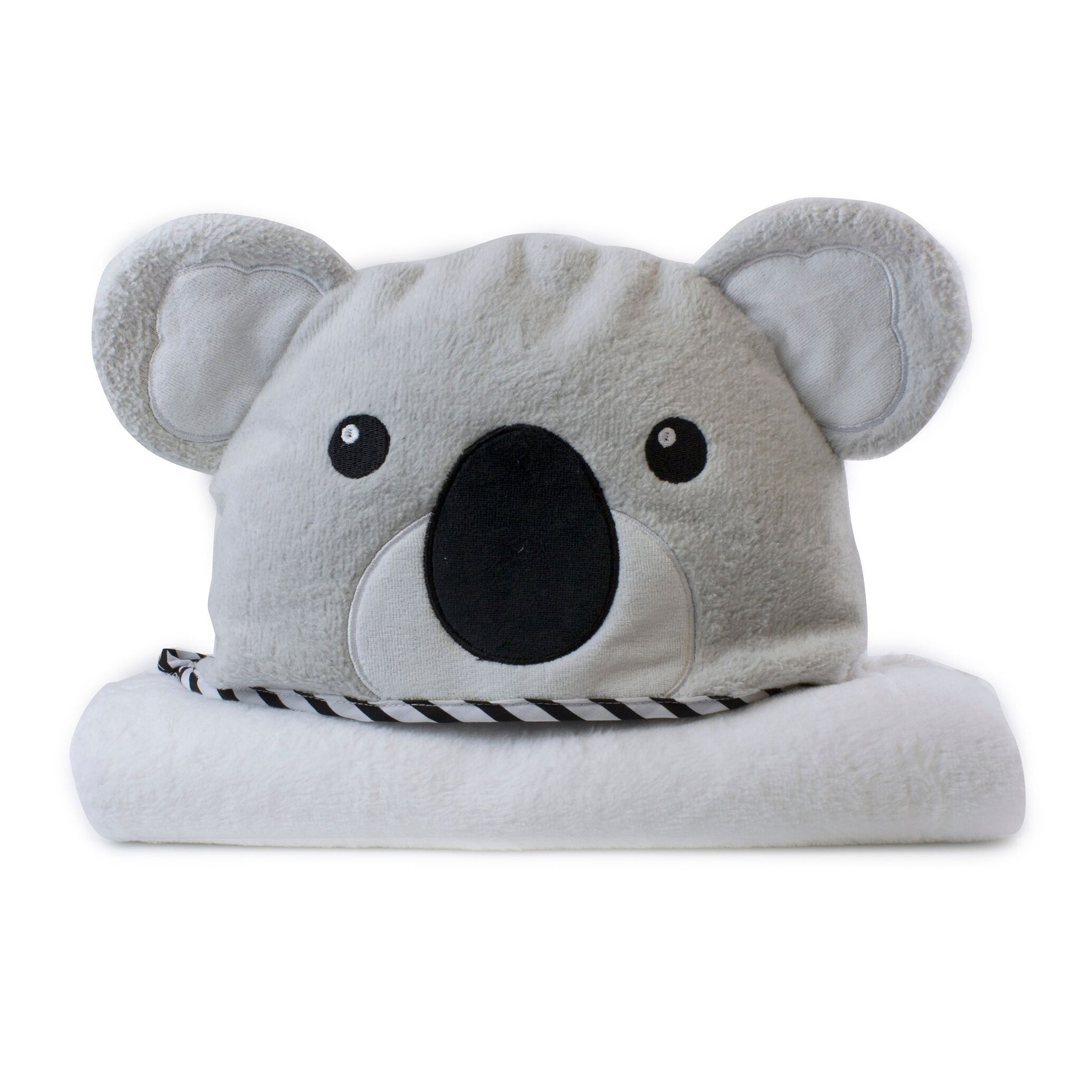 Aussie Animals 'Koala' Novelty Hooded Bath Towel Safari Totz