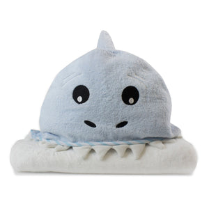 Aussie Animals 'Shark' Novelty Hooded Bath Towel Safari Totz