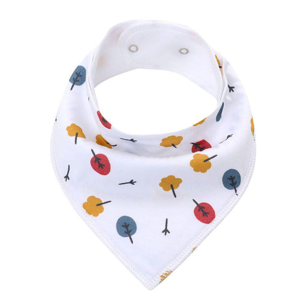 Bandana Autumn Leaves  Bibs Safari Totz