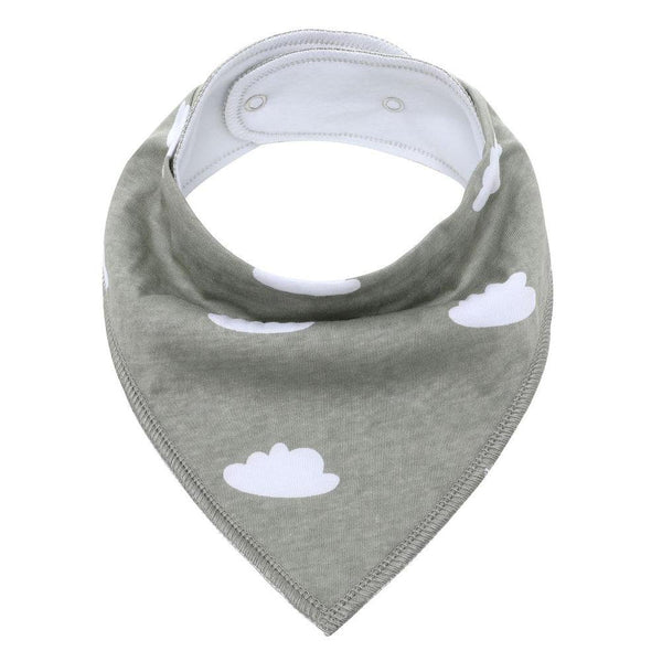 Bandana Clouds Bibs Safari Totz
