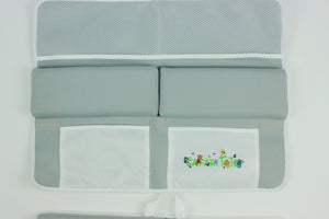 Exclusive Safari Totz Bath Kneeler & Elbow Rest Set - Plain Grey
