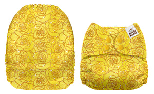 Sparkly Yellow Roses