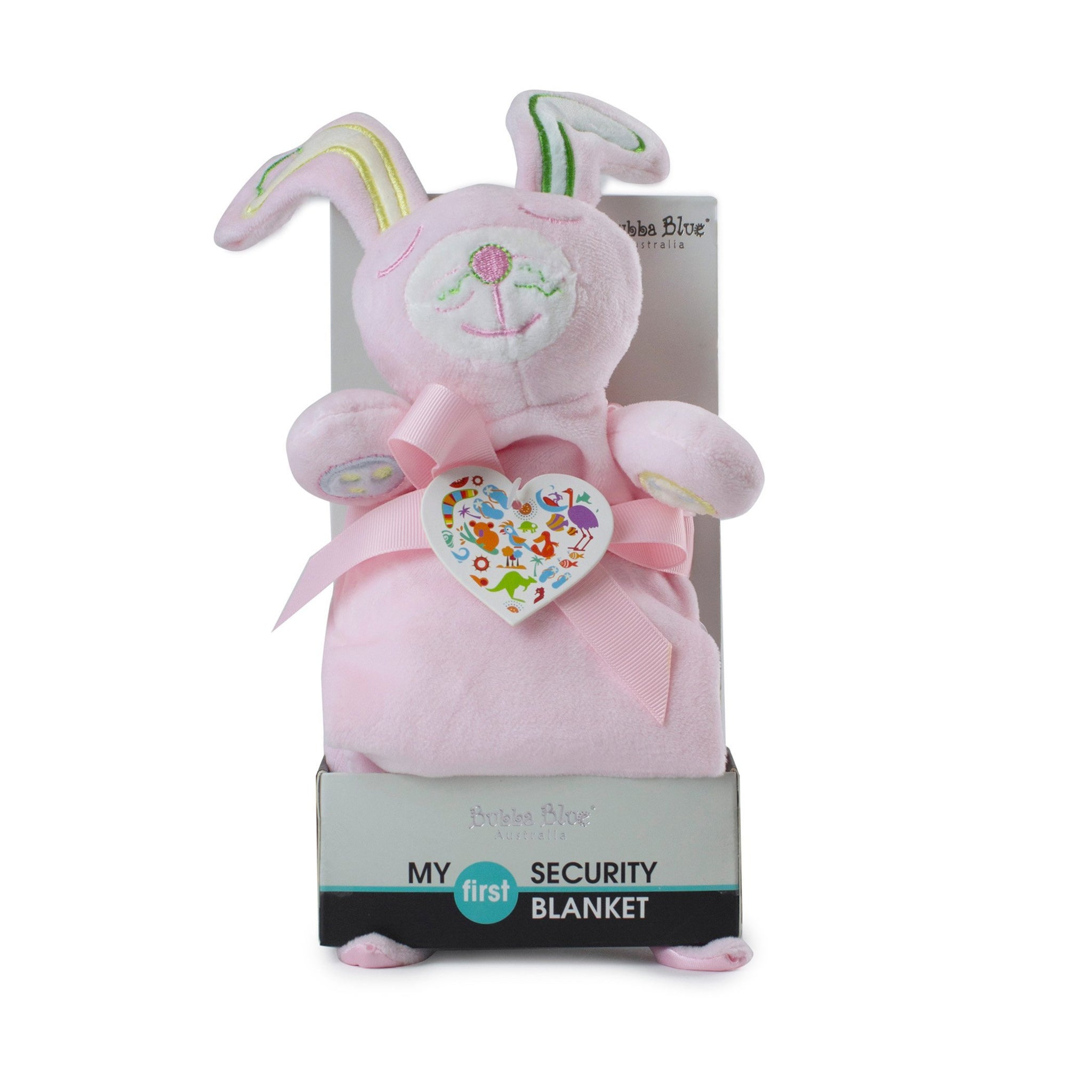 Pink Bunny Security Blanket Safari Totz