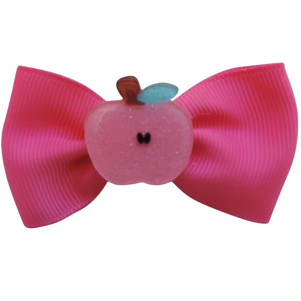 "2.75"" 5PC Fruity Hair Bows Set"