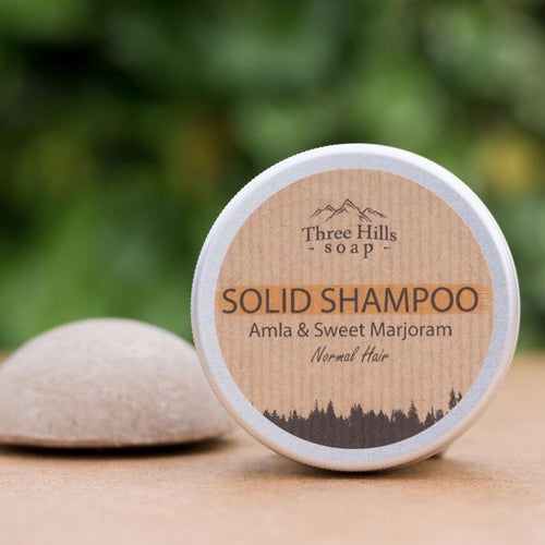 shampoo capelli normali e/o secchi three hills soap