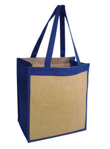 Ecowise Jute Tote Natural - Pack of 5