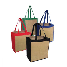 Load image into Gallery viewer, Ecowise Jute Tote Natural - Pack of 5