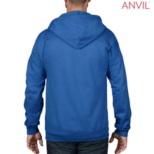 Load image into Gallery viewer, Anvil Adult Full-Zip Hooded Fleece - Men's