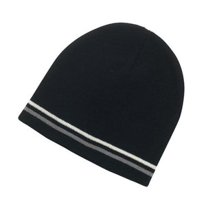 Double Striped Beanie