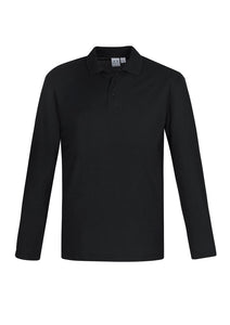 Crew Long Sleeve Polo - Men's