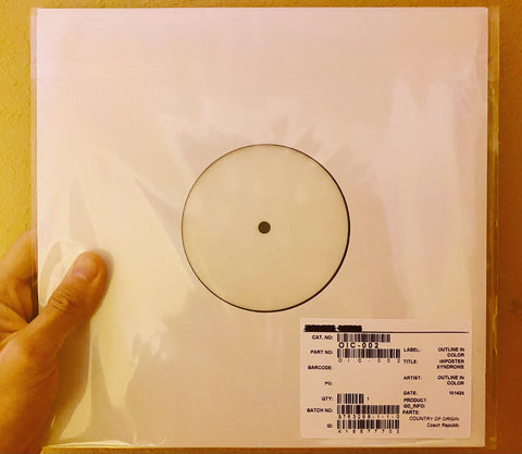 Imposter Syndrome Part 1 Vinyl Test-Pressing (1/1)