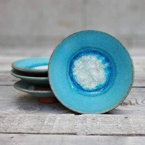 Ceramic and Glass Incense Dish