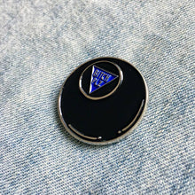 Load image into Gallery viewer, Bitch Plz Magic 8 Ball Enamel Pin