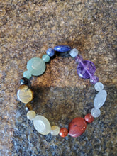 Load image into Gallery viewer, Tumbled Chakra Bracelet