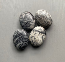 Load image into Gallery viewer, Zebra Jasper Palm Stone