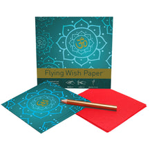 Load image into Gallery viewer, Flying Wish Paper GOLDEN OM Mini Kit