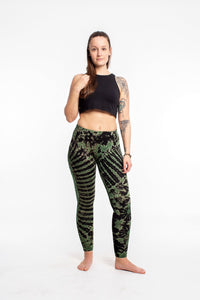 Tie-Dye Leggings (Plus Size)