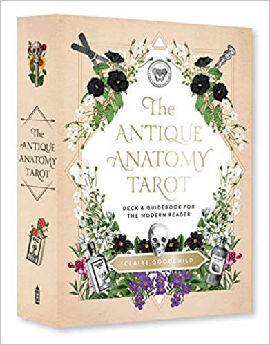 Antique Anatomy Tarot Kit: A Deck and Guidebook for the Modern Reader by Claire Goodchild