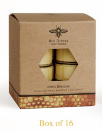 Pure Beeswax Tea Lights-Pack of 16