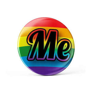 Me Pride Button Pin