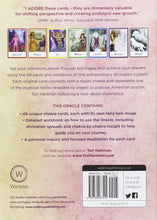 Load image into Gallery viewer, Chakra Wisdom Oracle Cards: The Complete Toolkit to Transforming Your Life