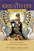 Load image into Gallery viewer, The Creativity Oracle: Visions of Enchantment to Guide and Inspire Magic Makers by Monte Farber and Amy Zerner