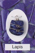 Load image into Gallery viewer, Crystal Wire-Wrapped Pendant