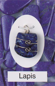 Crystal Wire-Wrapped Pendant