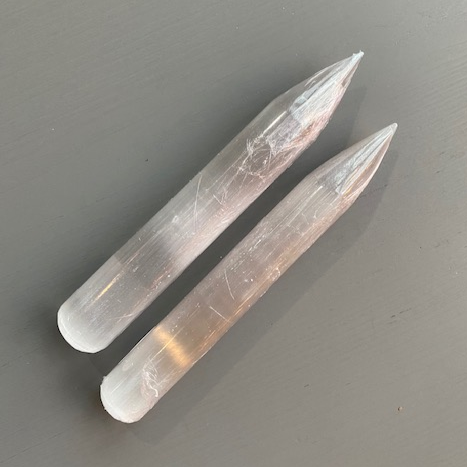 Selenite Pencil- Large
