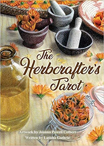 The Herbcrafter's Tarot by Latisha Guthrie and Joanna Powell Colbert