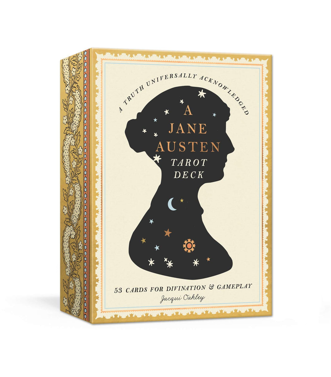 A Jane Austen Tarot Deck: 53 Cards for Divination and Gameplay by Jacqui Oakley