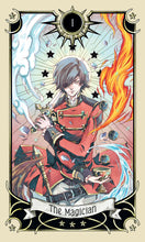 Load image into Gallery viewer, Mystical Manga Tarot by RANN, text by Barbara Moore