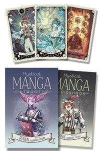 Mystical Manga Tarot by RANN, text by Barbara Moore