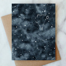 Load image into Gallery viewer, Constellation Birthday Cards