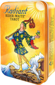 Radiant Rider Waite Tarot Deck Tin