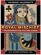 Load image into Gallery viewer, Royal Mischief Transformation Playing Cards by Patrick Valenza