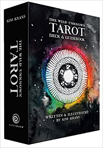 The Wild Unknown Tarot Deck and Guidebook by Kim Krans