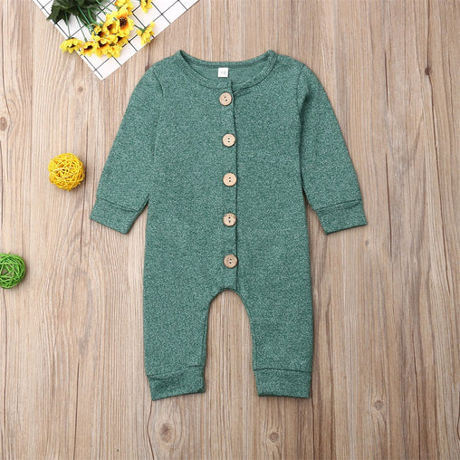 Newborn Baby Clothes Jumpsuit - Oh Happy Mommy