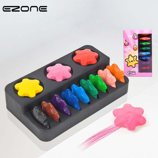 Wax Crayon - 12 colours - Oh Happy Mommy