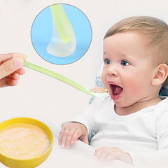 Silicone Feeding Spoon for Babies - Oh Happy Mommy