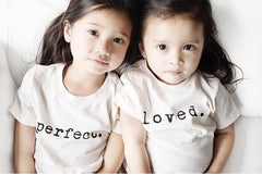Fashion Letter Printed T Shirts - Oh Happy Mommy