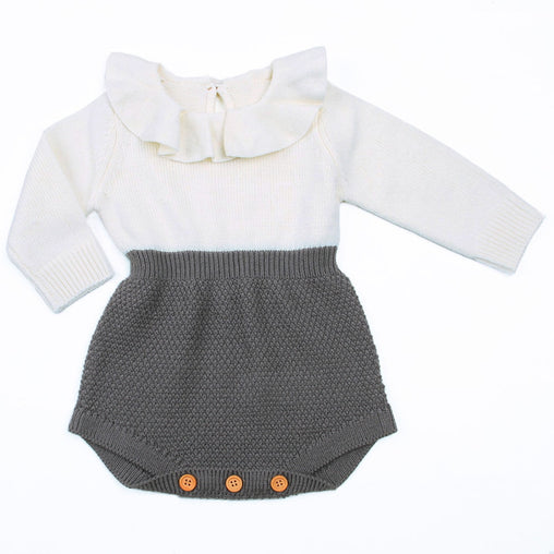 Rompers Wool Knitting Top Rompers - Oh Happy Mommy