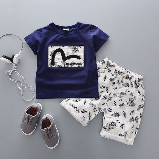 Cartoon Cotton Summer Clothing Sets - Oh Happy Mommy