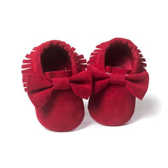 First Walkers Newborn Baby Moccasins - Oh Happy Mommy