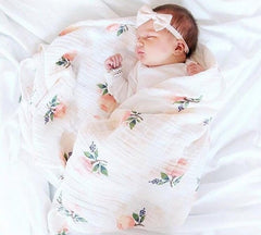 Muslin Cotton Baby Blanket - Oh Happy Mommy