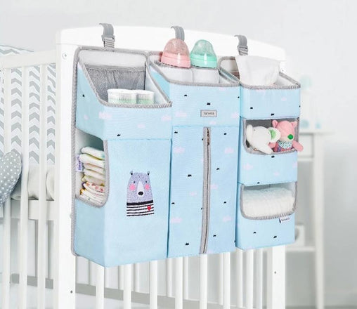 Portable Crib Organizer For Your Little Angel - Oh Happy Mommy